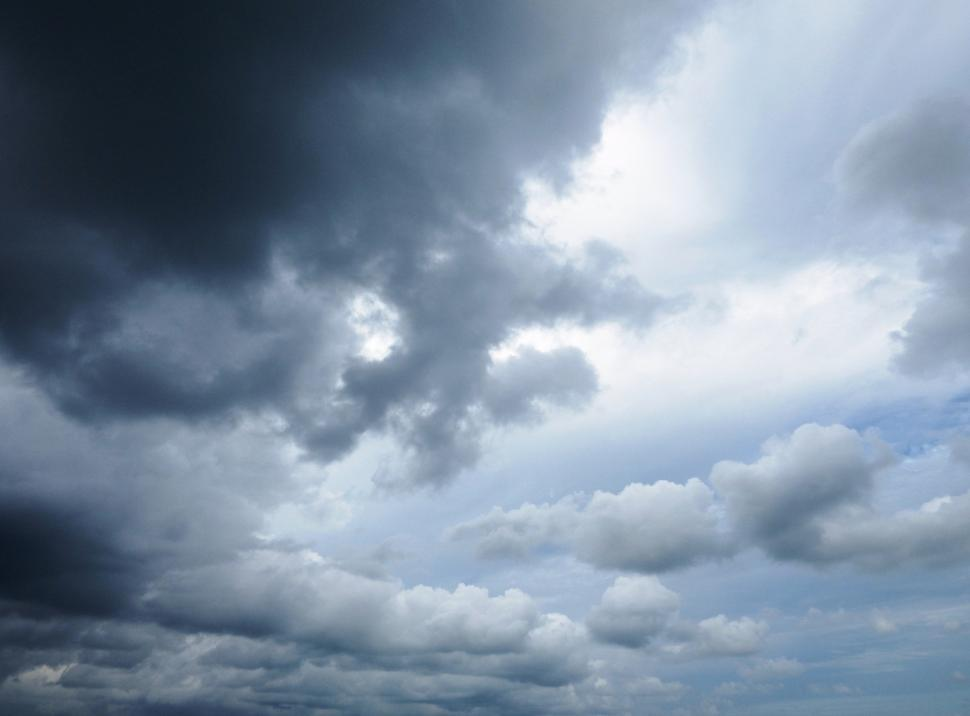 Download Free Stock Photo of Cloudy Skies