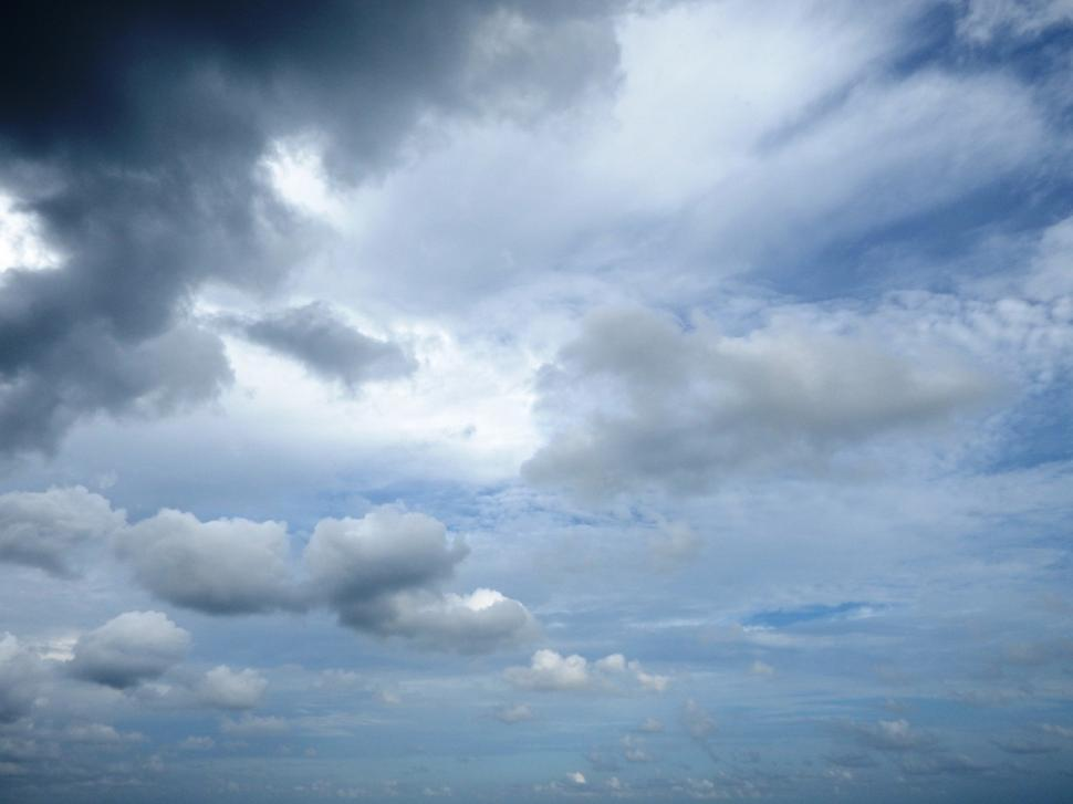 Download Free Stock HD Photo of Up in Cloudy Skies  Online