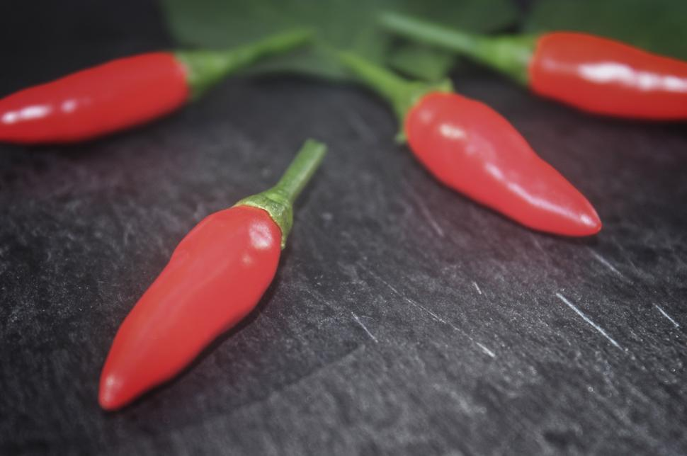Download Free Stock HD Photo of Red Chilli Peppers - Close-Up Online
