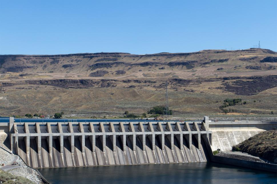 Download Free Stock Photo of Hydroelectric