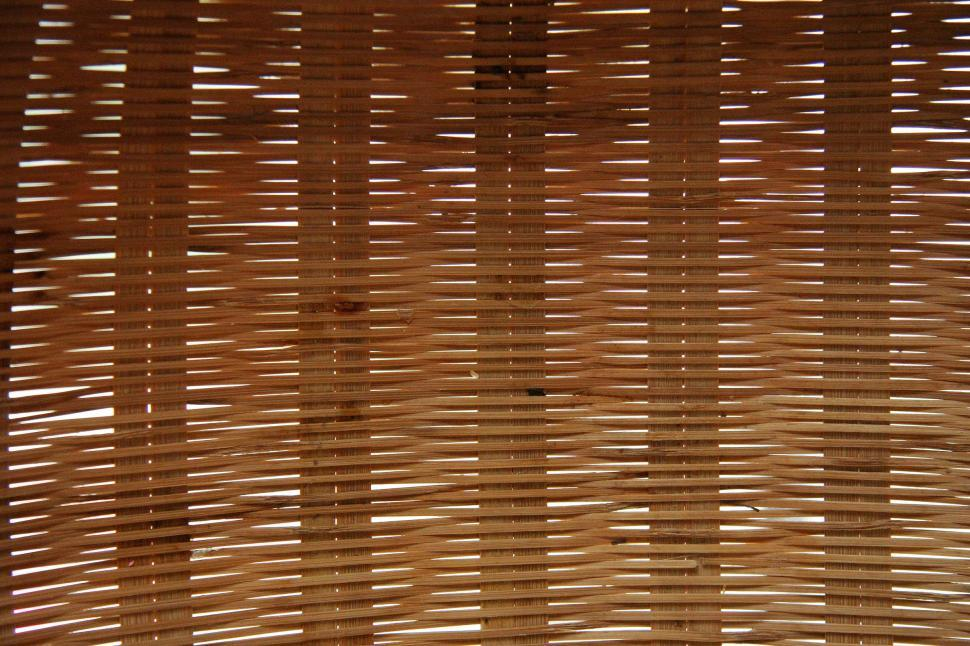Download Free Stock Photo of Woven wicker texture