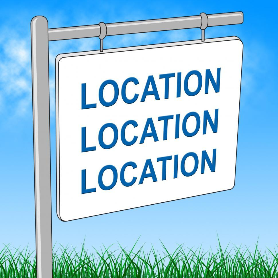 Download Free Stock Photo of House Location Represents Advertisement Place And Signage