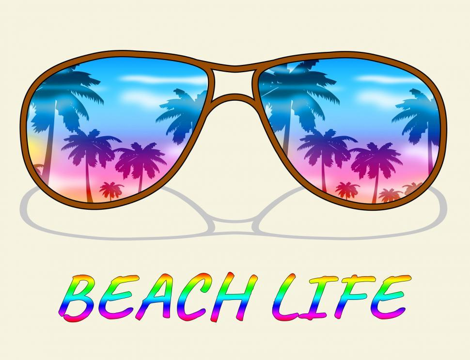 Download Free Stock Photo of Beach Life Represents Sea And Coast Living