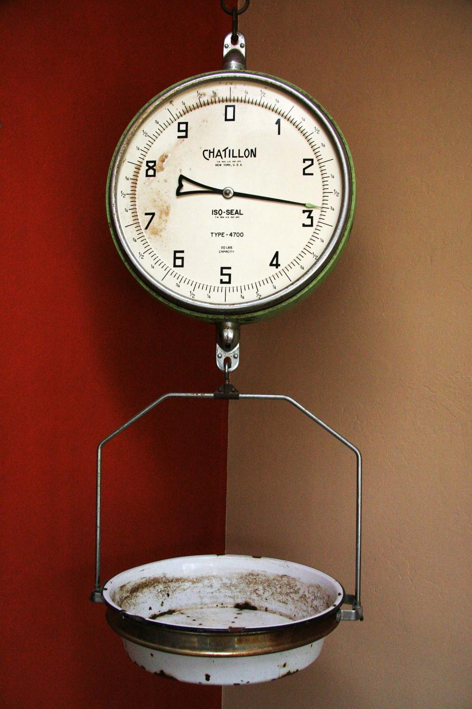 Download Free Stock HD Photo of vintage grocery scale Online