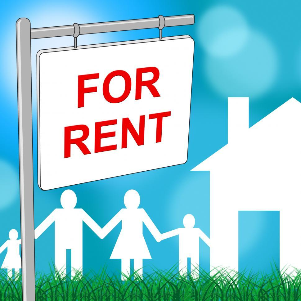 Download Free Stock Photo of For Rent Means Template Household And Houses