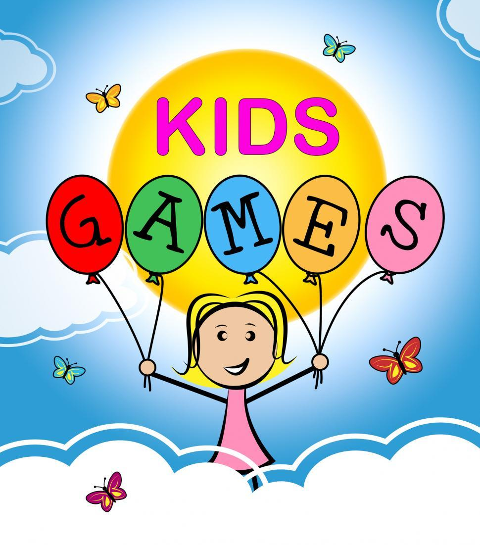 Download Free Stock Photo of Kids Games Indicates Play Time And Childhood
