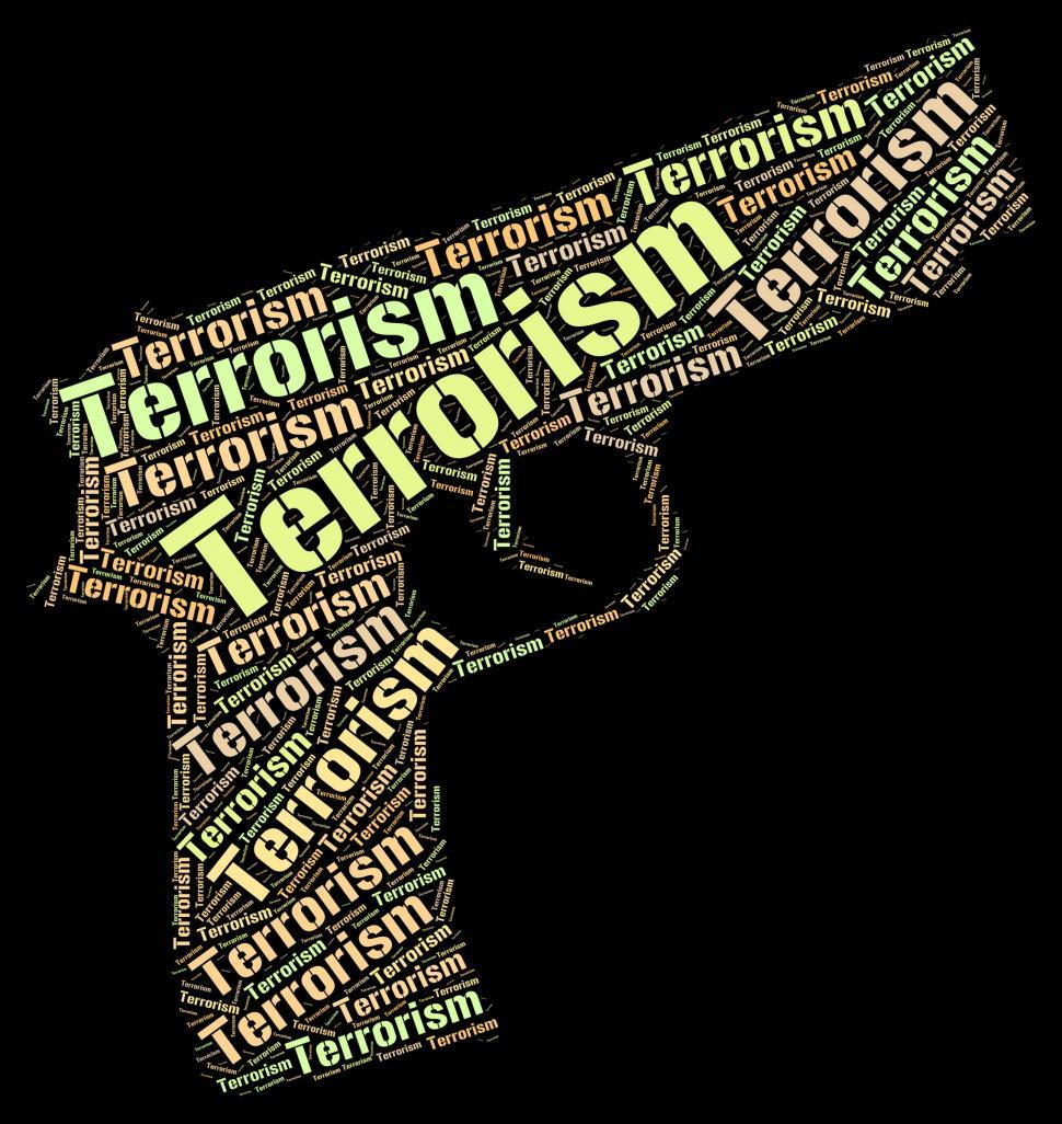 Download Free Stock HD Photo of Terrorism Word Represents Freedom Fighter And Anarchy Online
