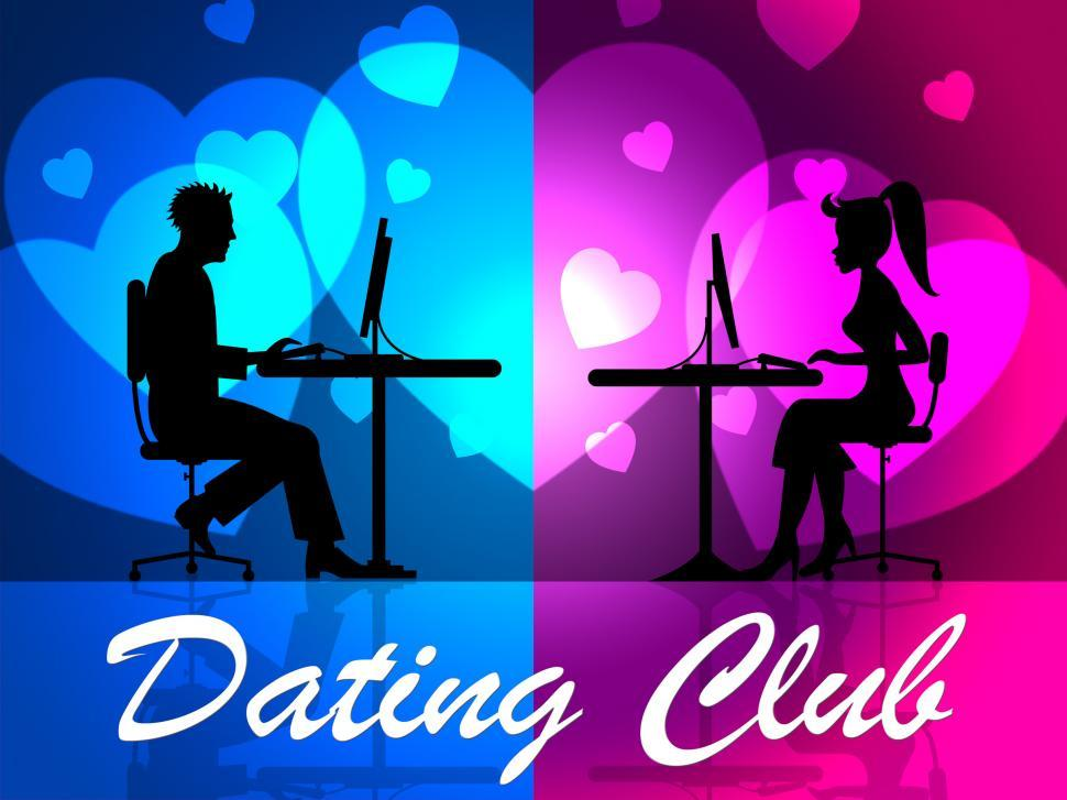 Download Free Stock Photo of Dating Club Means Clubs Network And Online