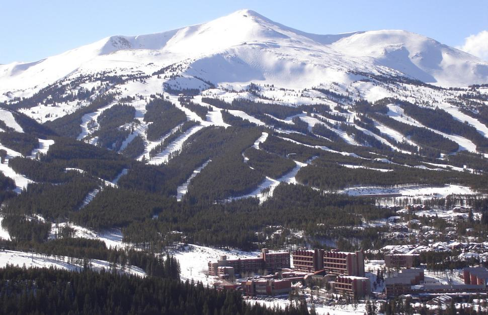 Download Free Stock HD Photo of Ski Mountain view of the slopes Online
