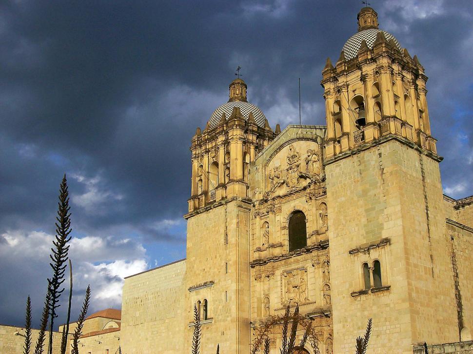 Download Free Stock HD Photo of Oaxaca Church Online