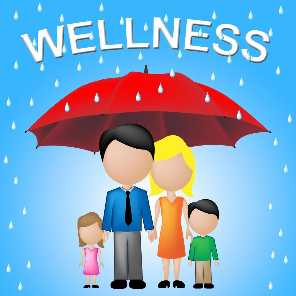 Download Free Stock Photo of Family Wellness Means Health Check And Relatives