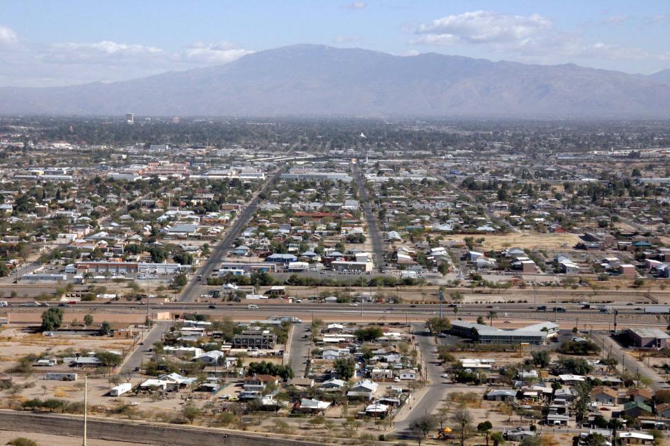 Download Free Stock Photo of Urban sprawl