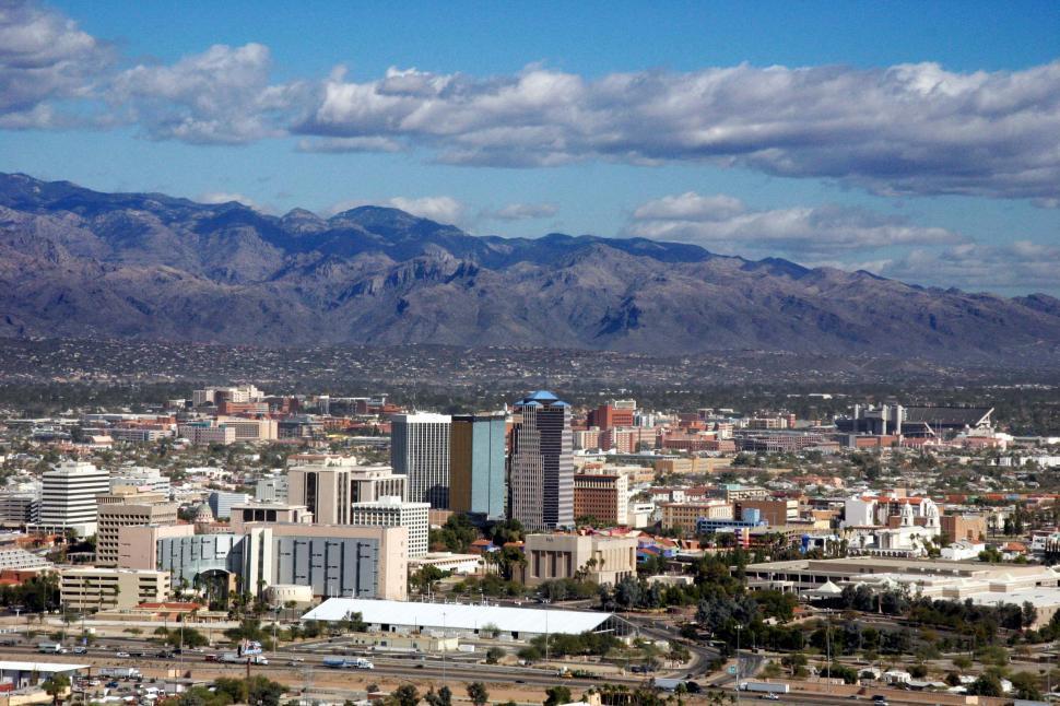 Download Free Stock HD Photo of Downtown Tucson, Arizona Online