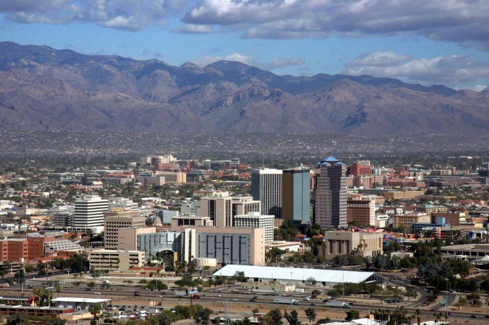 Download Free Stock HD Photo of City of Tucson Arizona Online