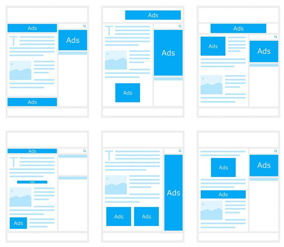 Download Free Stock Photo of Ad layouts