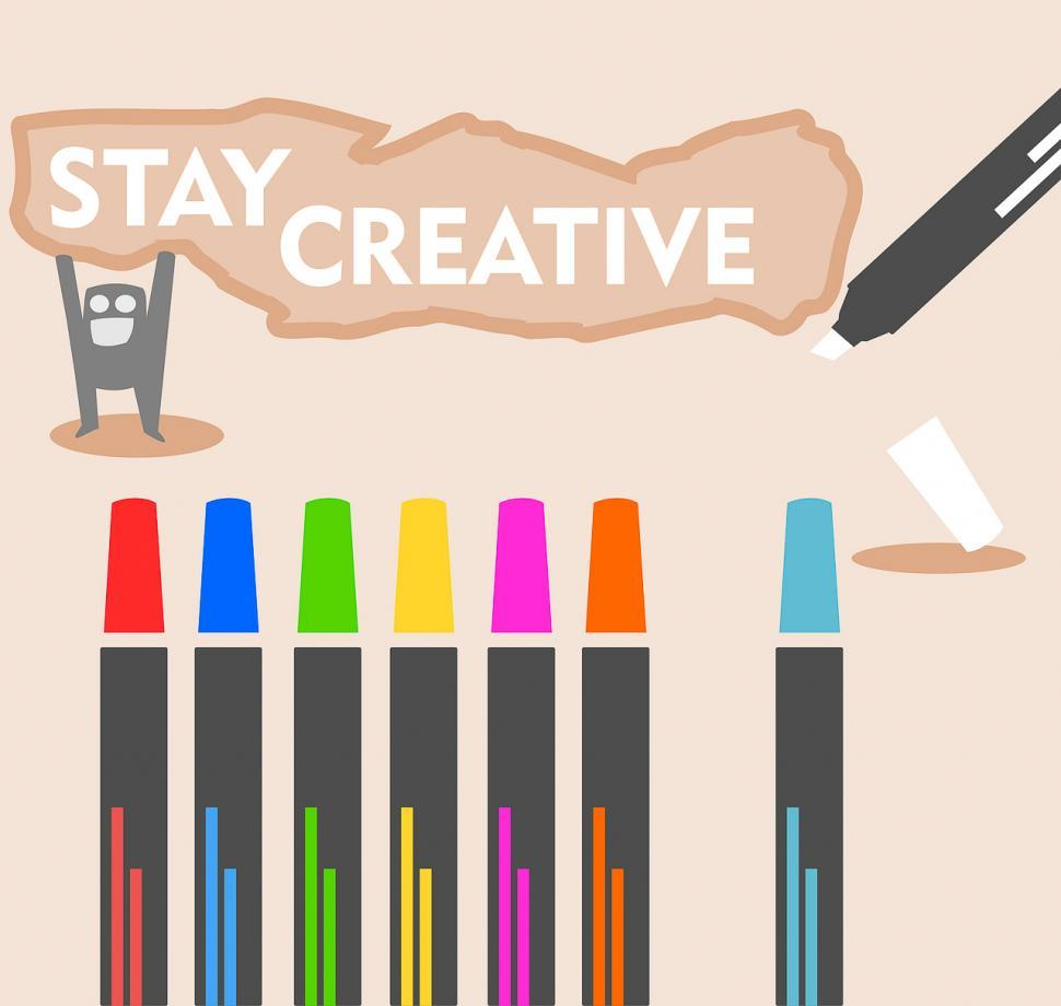 Download Free Stock HD Photo of Markers and art Online