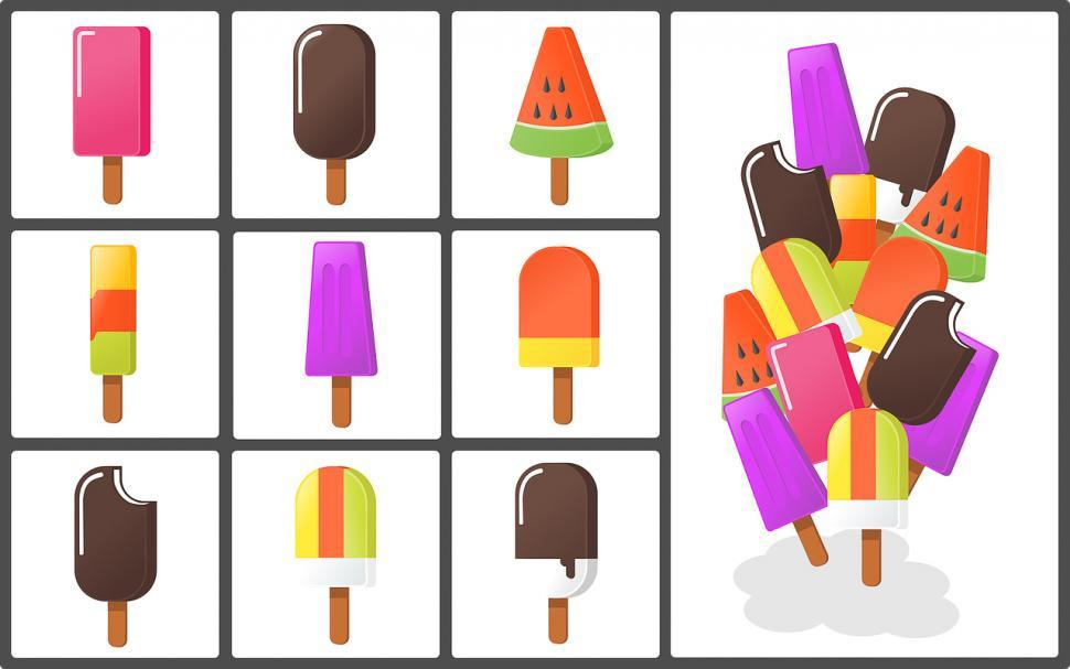 Download Free Stock Photo of Frozen snacks