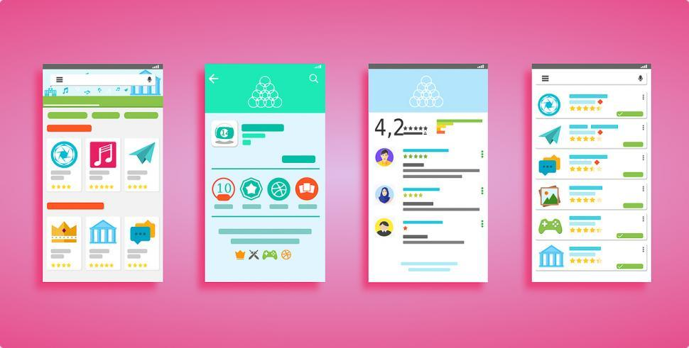 Download Free Stock HD Photo of Mobile app design Online