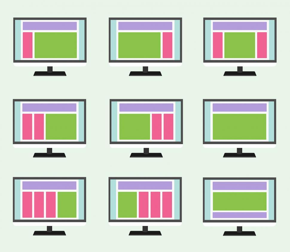 Download Free Stock HD Photo of Web design layouts Online