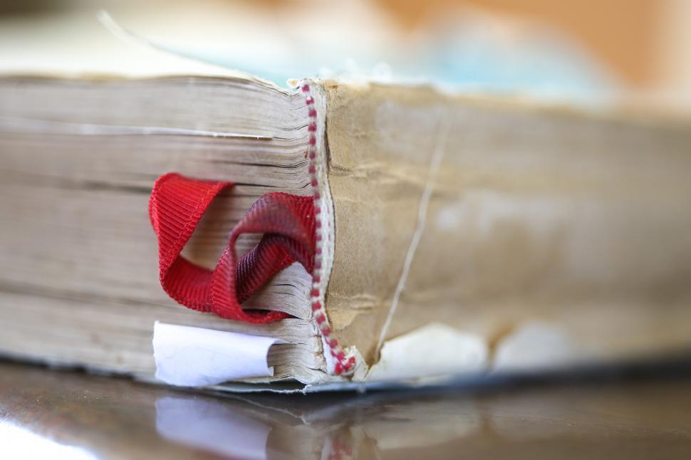 Download Free Stock HD Photo of Worn book binding Online