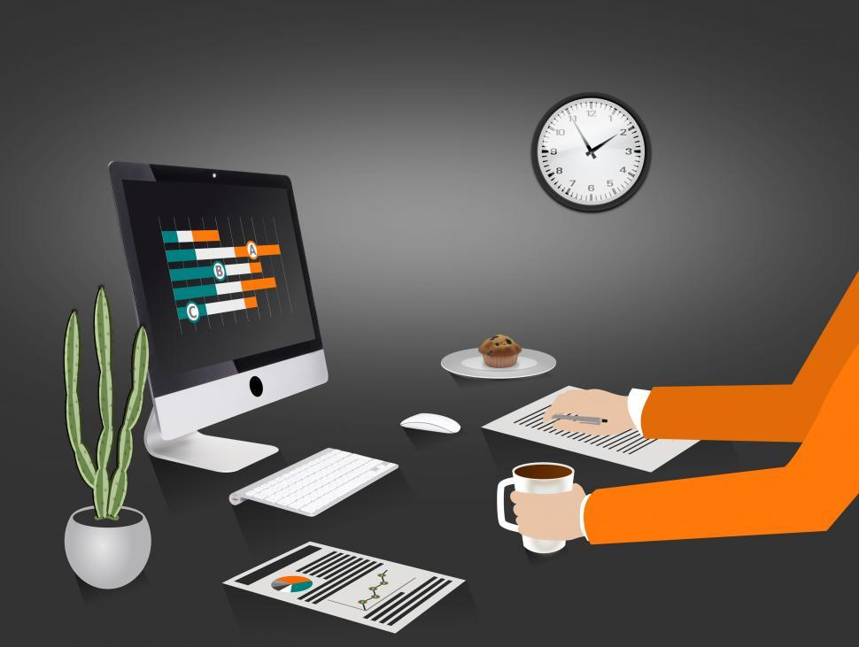 Download Free Stock HD Photo of Project Management - Budget Planning - Illustration Online