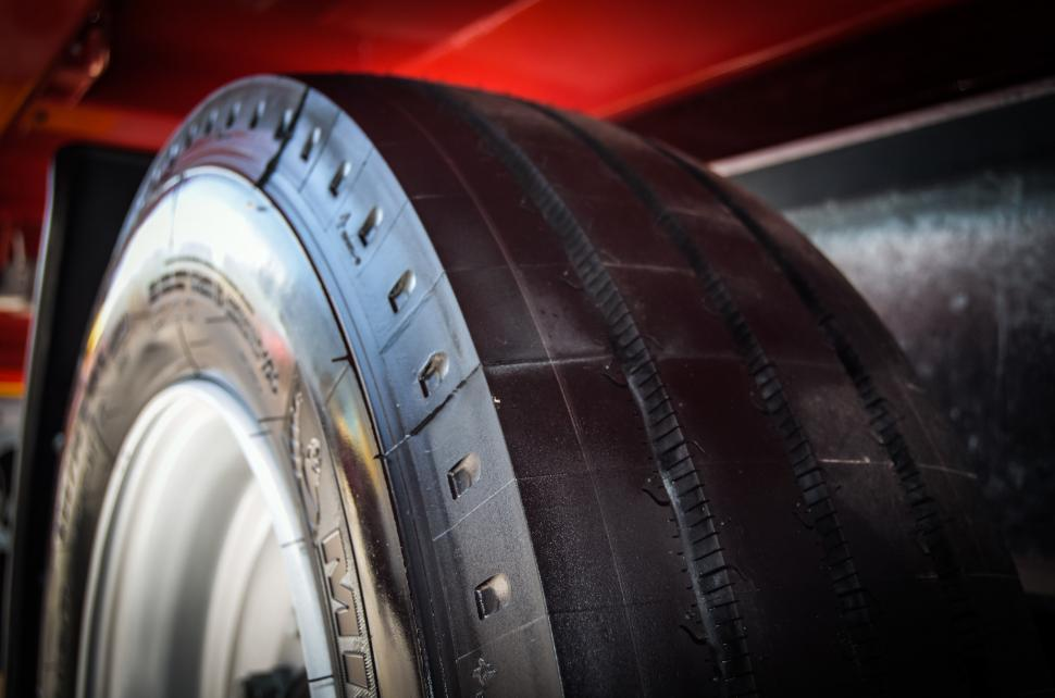 Download Free Stock Photo of rubber tire slick new wheel