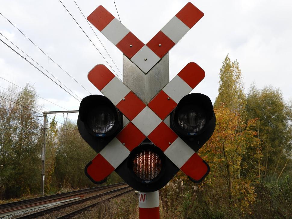 Download Free Stock Photo of Railway signaling