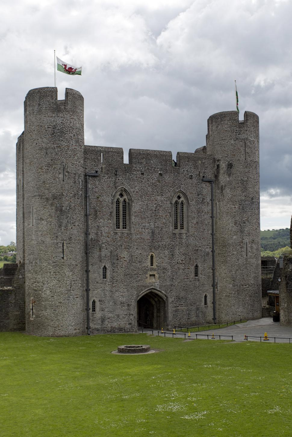 Download Free Stock HD Photo of Caerphilly castle  Online