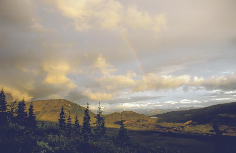 Download Free Stock HD Photo of Rainbow in Alaska Online