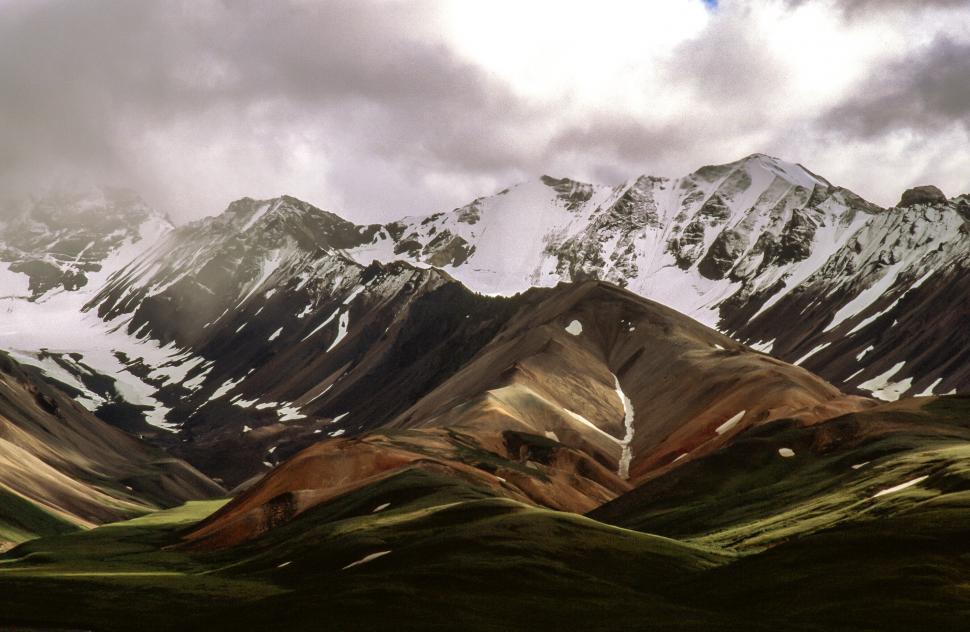 Download Free Stock Photo of Mountain Range, Denali