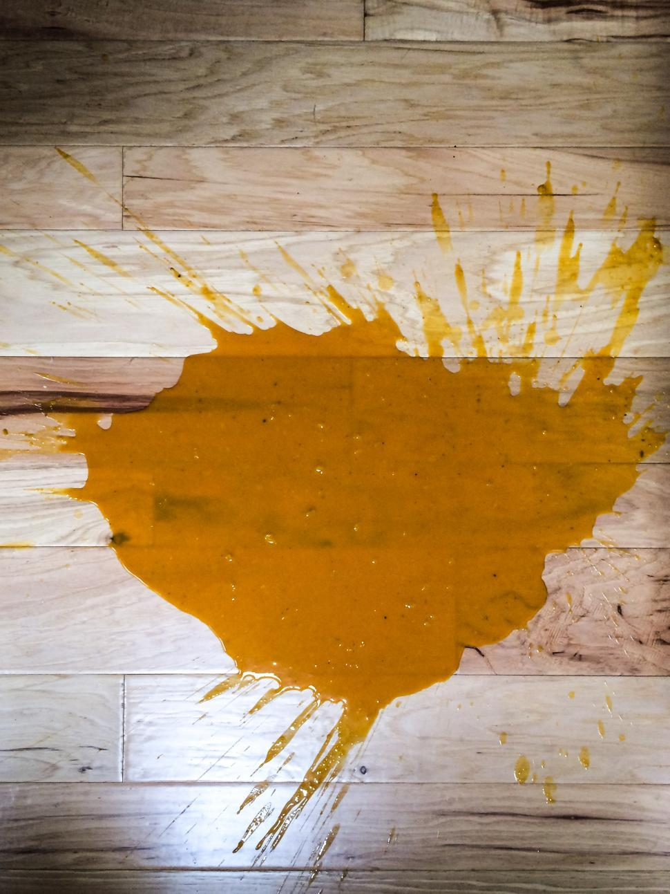 Download Free Stock HD Photo of Spill on wooden floor Online
