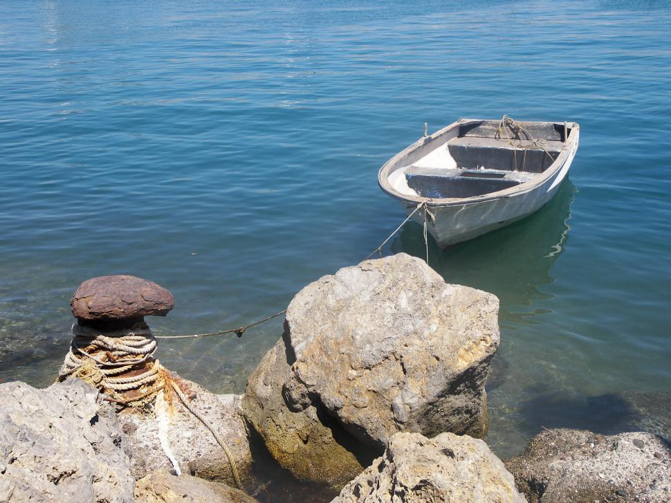 Download Free Stock HD Photo of Solitary Boat  Online