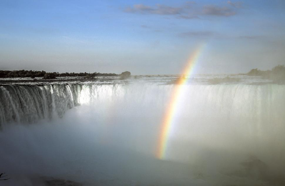 Download Free Stock HD Photo of Horseshoe Falls in Niagara Falls, Ontario - Rainbow Online