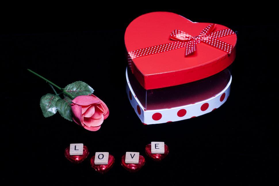 Download Free Stock Photo of Love on Valentine s Day