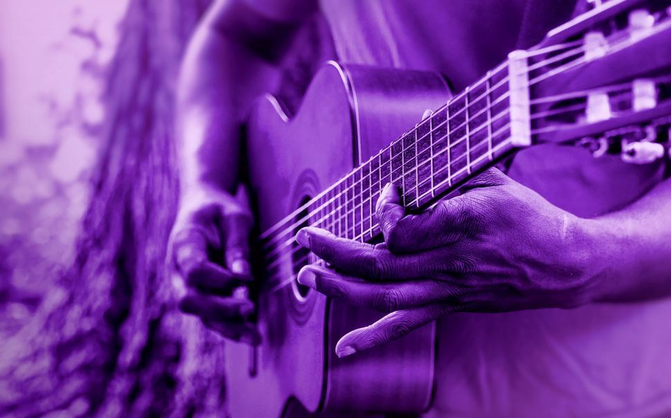 Download Free Stock HD Photo of Man Playing Acoustic Guitar Online