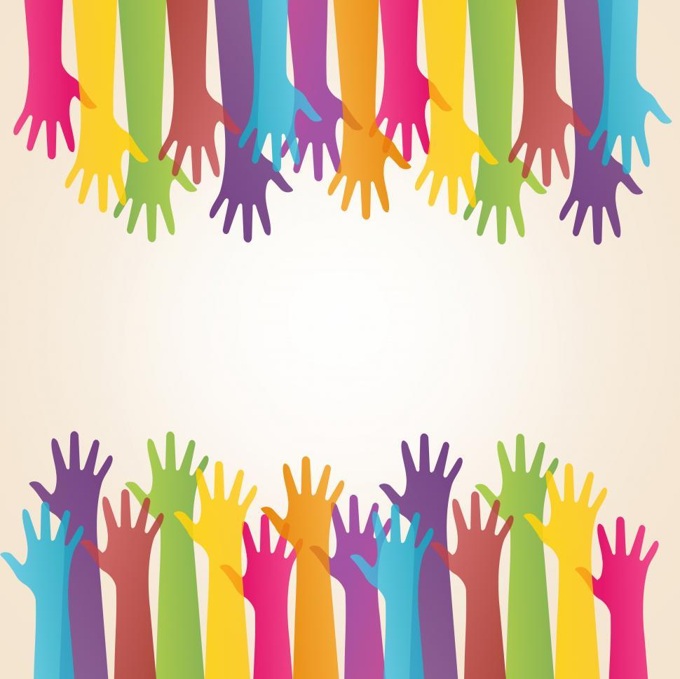 Download Free Stock Photo of Community and Solidarity - Reaching - Concept with Copyspace