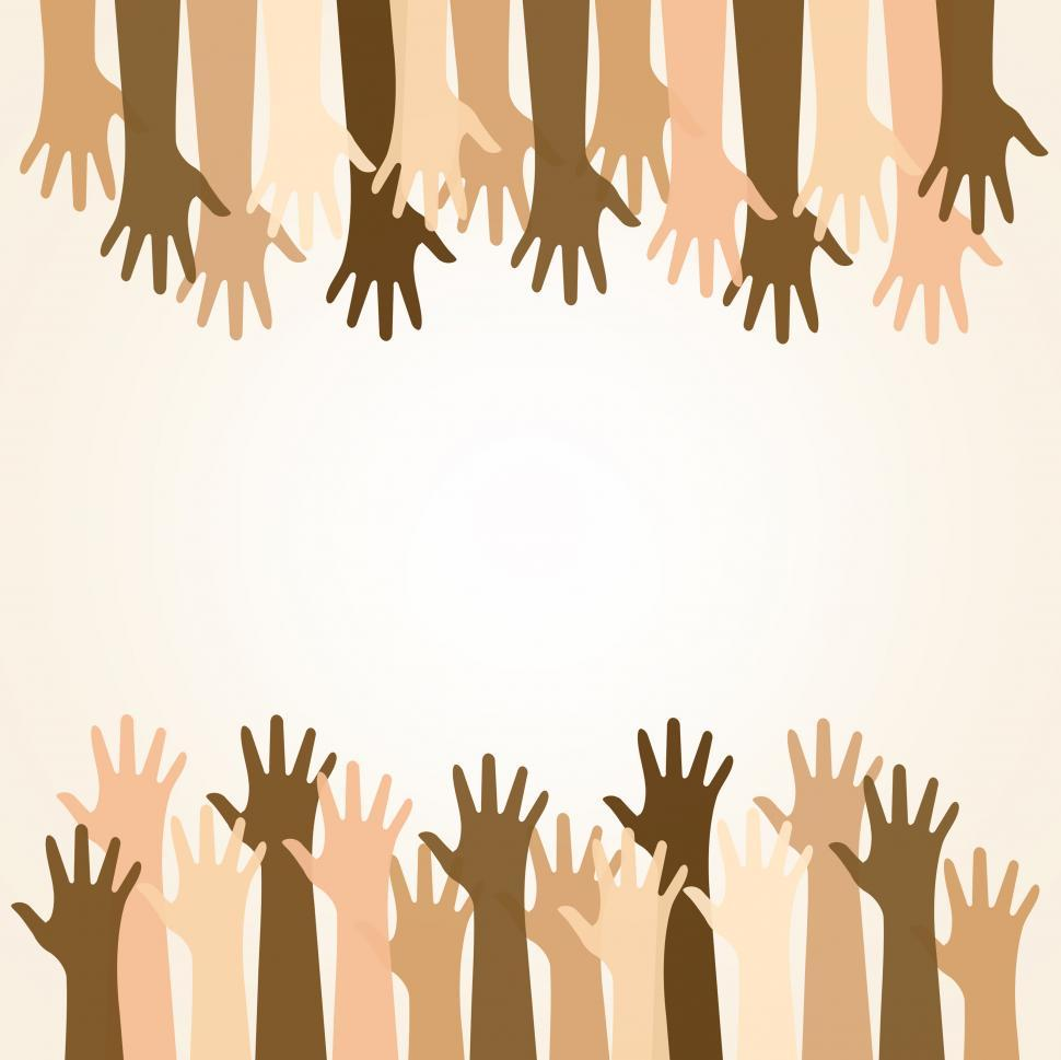 Download Free Stock Photo of Multiethnic Community and Solidarity - Helping - Concept with Co