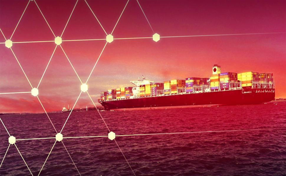 Download Free Stock Photo of Cargo Ship - Logistics Concept