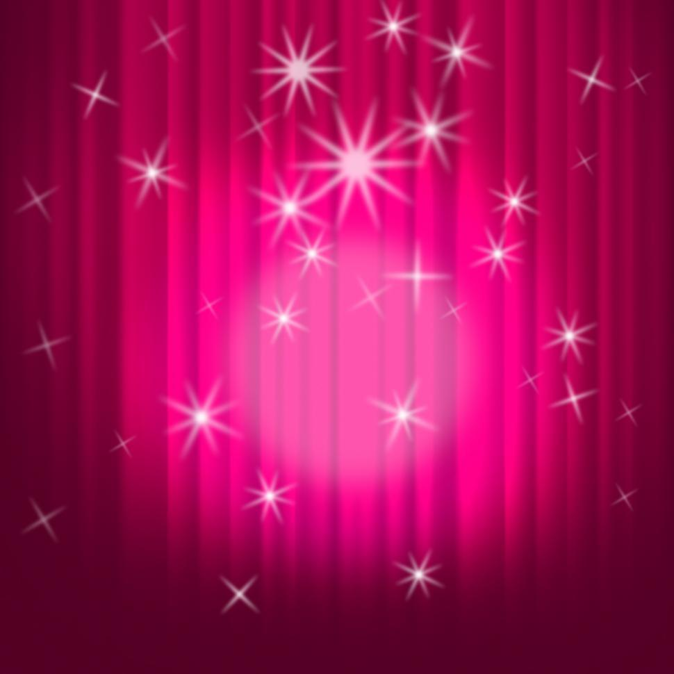 Download Free Stock HD Photo of Closed Curtains Background Shows Theatre Performance Or Stage Online