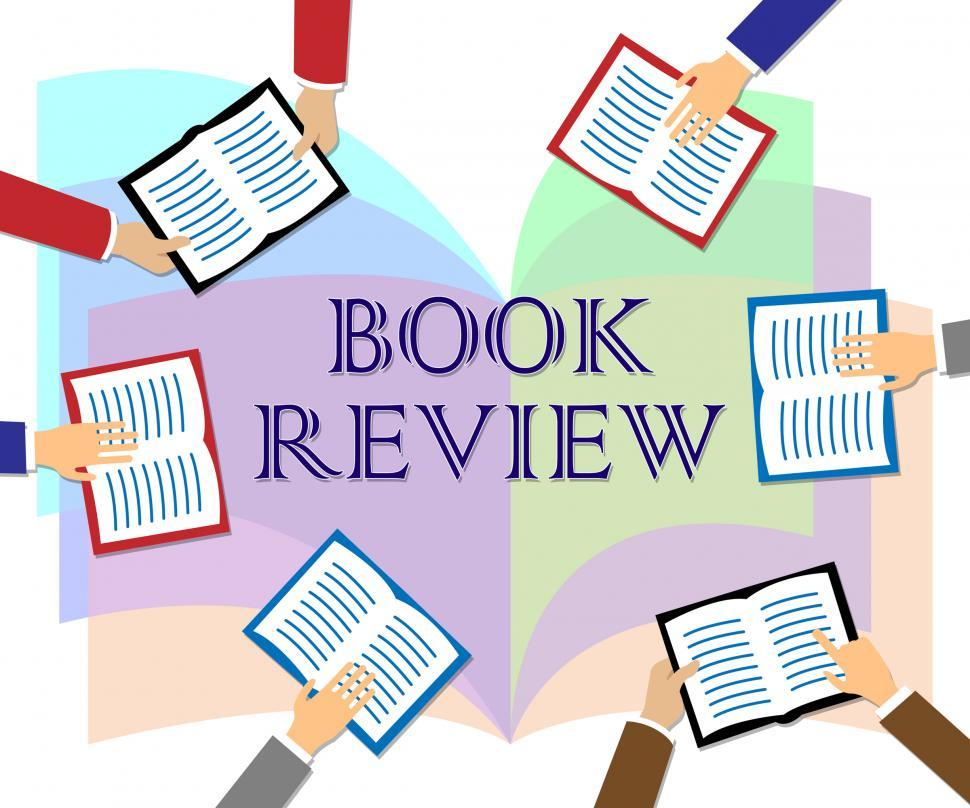 Download Free Stock HD Photo of Book Review Represents Reviewing Fiction And Knowledge Online