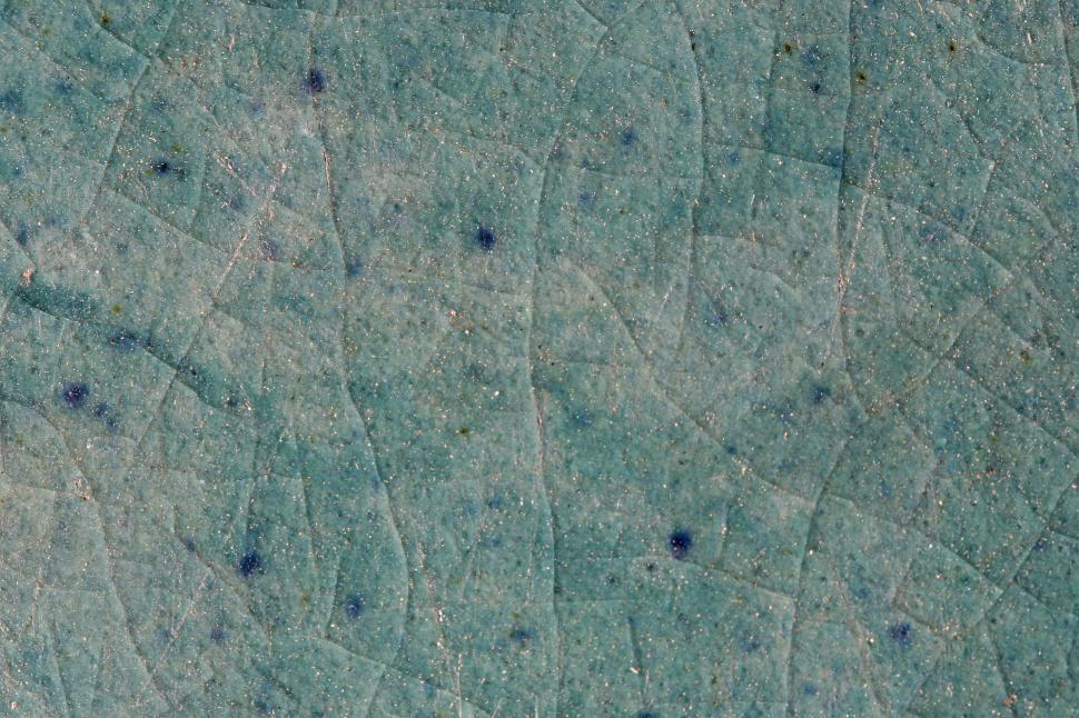 Download Free Stock HD Photo of Cracked blue glaze Online