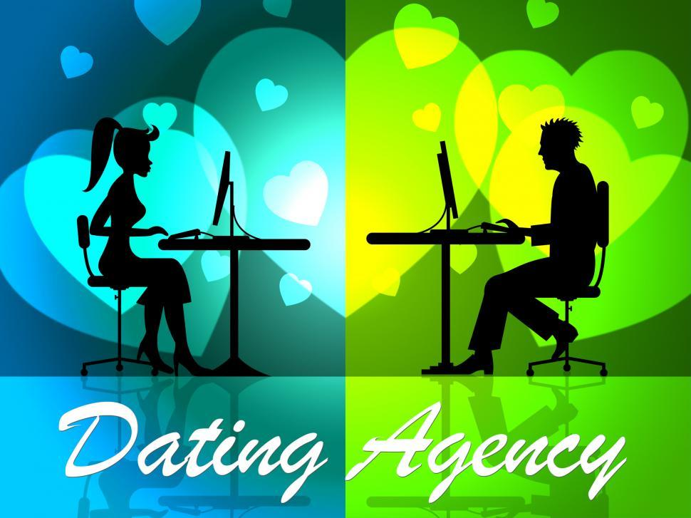 Download Free Stock HD Photo of Dating Agency Represents Companies Network And Partner Online