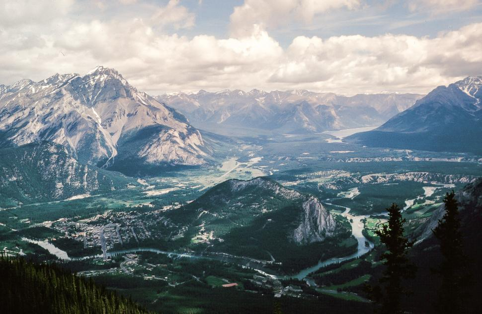 Download Free Stock Photo of Banff National Park