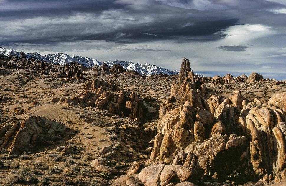 Download Free Stock Photo of Alabama Hills in Sierra Nevadas