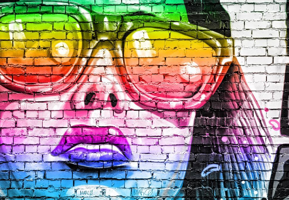Download Free Stock HD Photo of Street Art - Graffiti - Variation Five Online