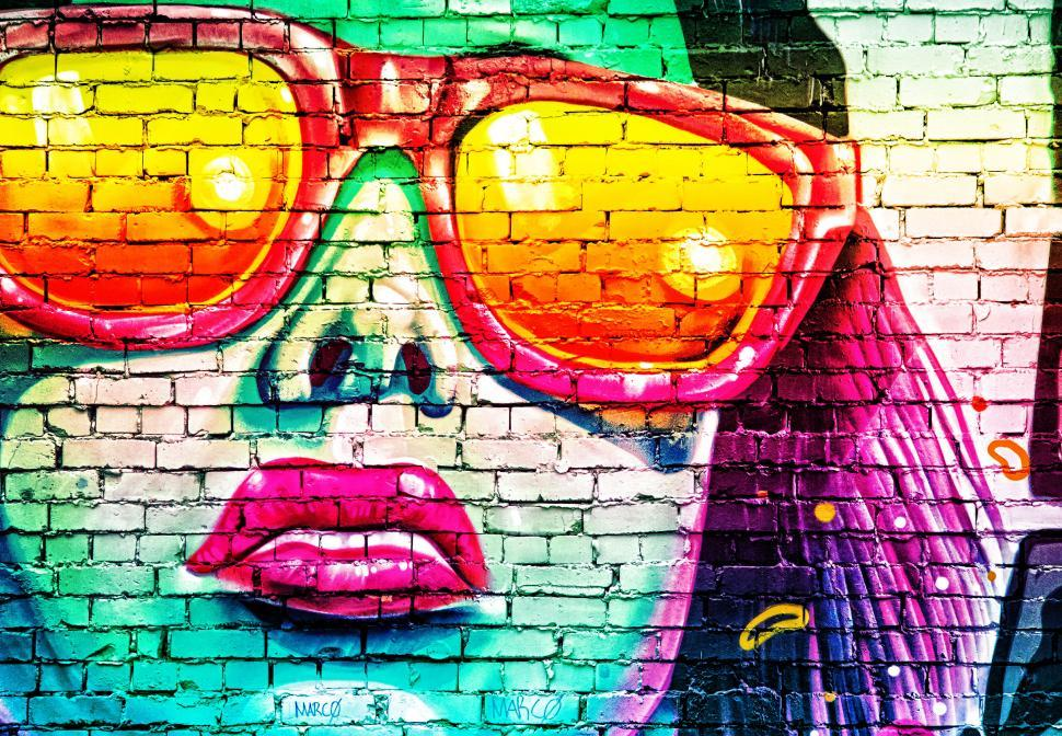 Download Free Stock Photo of Street Art - Graffiti - Variation Two