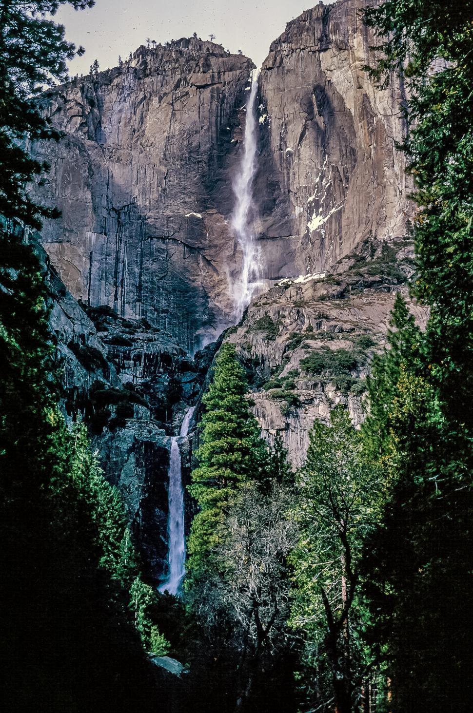Download Free Stock Photo of Yosemite Falls