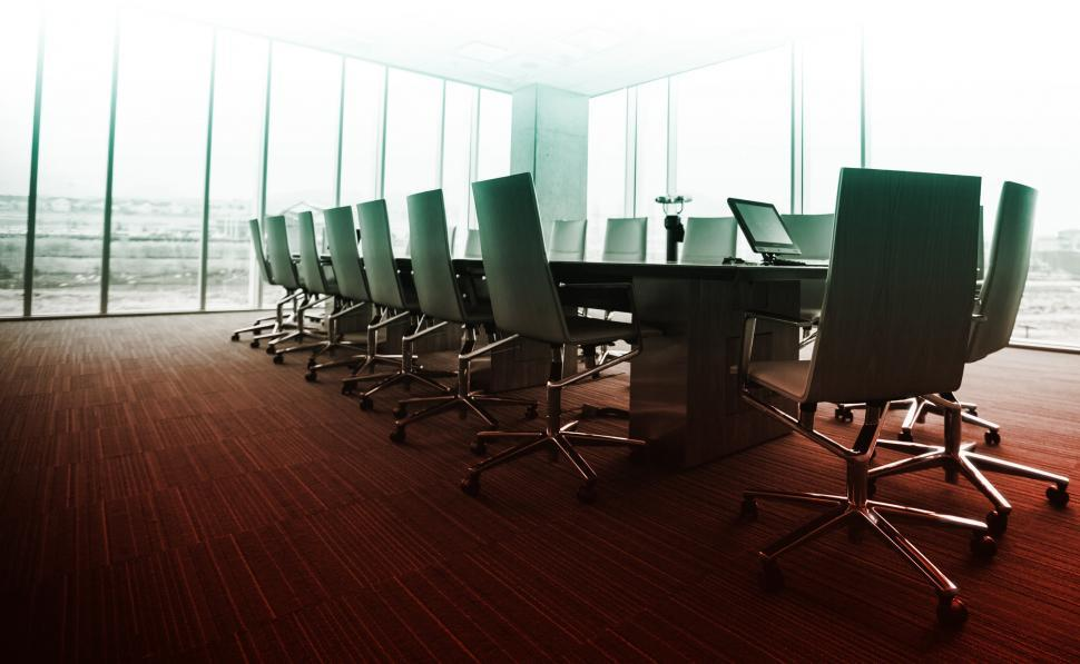 Download Free Stock HD Photo of Empty Meeting Room  Online