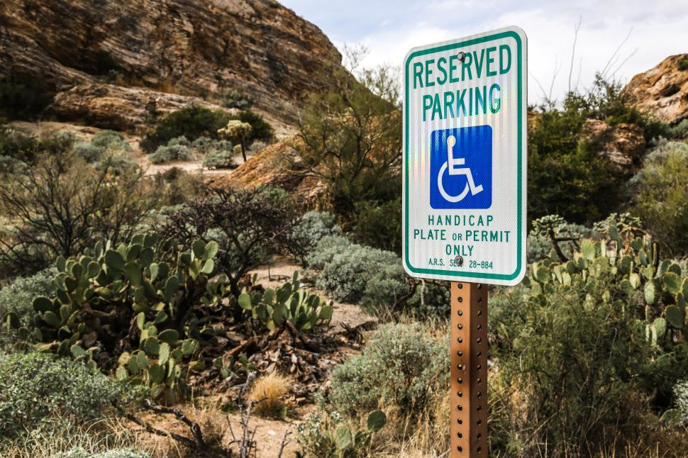 Download Free Stock HD Photo of Handicapped Parking Sign Online