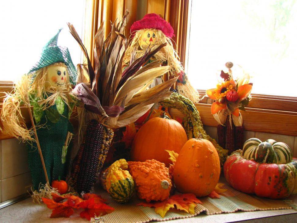Download Free Stock Photo of Fall Decor